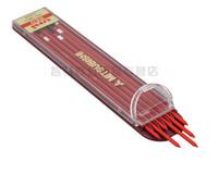 Wholesale Mechanical Pencil Lead Refills - UNI 2.0mm red Mechanical pencil leads refills Red color office & school writing stationery supplies 1 lot =2pcs