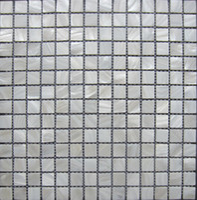 cuisine de dosseret de mère perle achat en gros de-carreaux de mur lustre mosaïque Carreaux de mosaïque en nacre blanche pure; dosseret de cuisine, carrelage miroir de salle de bain