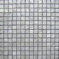 ingrosso cucina bianca piastrelle muro-lustre mosaico Piastrelle per pareti; Tessere di mosaico in madreperla bianca pura; piastrelle backsplash cucina, piastrelle specchio del bagno