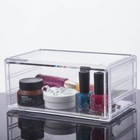 Wholesale 2016 New Good quality Hot selling cheap clear acrylic makeup organizer with drawer YOUR BEST CHOICE