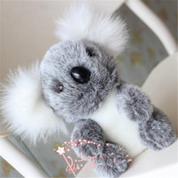 7,08 polegadas Cute Koala Plush Toy Baby Doll Kawaii Stuffed Animal Peluche Brinquedos Lovely Kids Brinquedos de peluche Educacional Kids Xmas Gift Size