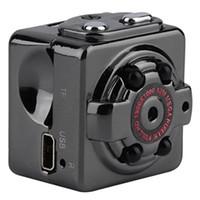 Wholesale Camera Portable Night - HD 1080P 720P Sport Spy Mini Camera SQ8 Mini DV Voice&Video Recorder Infrared Night Vision Digital Smallest Cam Portable Camcorder