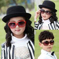 Wholesale Kids Polarized Sunglasses - Cute Kids Child Polarize PC UV400 Resin Lenses Sports Sun Glasses Baby For Girls Boys Outdoor Designer Sunglasses 8 Color Free Ship S1046