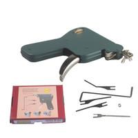 manuel kilitleme toptan satış-KARTAL Manuel Kilit Seçim Gun Kilit Seçim Aracı Set Kapı Kilidi Hızlı Açıcı Lockpick Çilingir Araçları - Aşağı