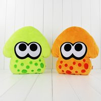 Wholesale Cool Stuff Free Shipping - 32cm Anime Splatoon Cool Squid Pillow Plush Soft Stuffed Doll Toy for kids gift free shipping retail