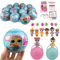 Wholesale Deer Dress Baby - 2017 LOL SURPRISE DOLL Dress Up Baby Can Tear Change Vinyl Dolls Lil Sisters 45+ to Collect