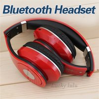 Wholesale Newest Dj Headphones - Newest Version Wireless Bluetooth Headphones DJ Headphones Noise cancelling Over Headphones with BOX Factory Sealed Brand Fast Shipping