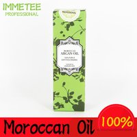 Wholesale Hair Labels - 100% PURE 60ml Morocco argan oil glycerol Nut oil Hairdressing hair care products essential moroccan oil accept private label OEM ODM