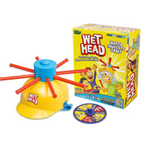 Wholesale Water Challenges - Zorn toys-Wet Head Game Wet Hat water challenge Jokes&Funny Toys roulette game Tricky cap spot goods wholesale 2016