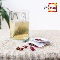 Wholesale Shipping Plastic Woven Bags - Shipping 100 7*8cm  non-woven reflexed   disposable tea bags   tea   tea bag tea bag tea bag