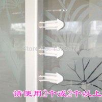 Wholesale Wholesale Sliding Windows - wholesale window locks child safety sliding door lock baby safety sliding window lock door stopper baby protect free shipping