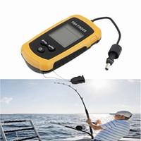Wholesale Sonar Fish Detector - Portable Sonar Fish Finder Fish Detector with LCD display Fishing Assistance