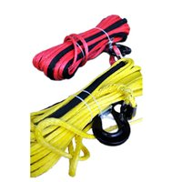 Wholesale Utv Winches - Wholesale-New Strong 10MM*40Meter 100% UHMWPE Synthetic Winch Cable Rope For 4WD ATV UTV SUV Winch Use free shipping