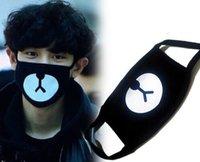 Wholesale Exo K - EXO Chan Yeol Bear Mouth Mask Muffle EXO-K Chanyeol Face Respirator