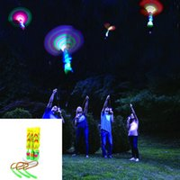 Wholesale Blister Toy Packaging - High Quality Blister Package Amazing LED Light Arrow Rocket Helicopter rotating Flying Toy Party Fun Gift