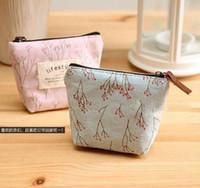 Wholesale Cheapest Purses - the cheapest mini soft canvas coin bag coin purse canvas money bag purse style coin wallet