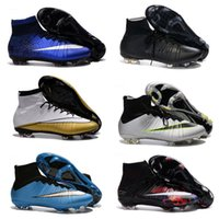 Wholesale Outlet Boot - 2016 Factory outlet Mercurial Superfly FG - Laser Orange White Black Kids Boots best selection of Mens Baby Kids Athletic shoes