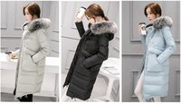 "Wholesale Downcoat Woman - 2016 Zmario Winter New Style Women's ""Tabby"" Water Resistant Hooded Maxi Down Coat Over Knee Slim Thickening and Warming Downcoat"