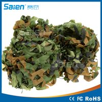 Wholesale Car Photography - NEW 2*4M Camouflage net Camo For Hunting Camping Photography Jungle Camouflage NET for Car Covering Climbing hiking