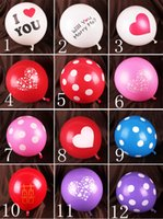 Wholesale Christmas Party Centerpieces Cheap - 50Pcs Wholesale Cheap Wedding Supplies Balloons Aluminum Coating Festival Birthday Party Anniversary Supplies Irregular Letters Balloon