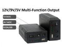 Wholesale 12v Usb Power Supply - 79.2W 12V Lithium-ion Battery Pack Backup Power Supply With 12V 9V 5V USB output
