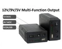 Wholesale 9v 5v Power Supply - 79.2W 12V Lithium-ion Battery Pack Backup Power Supply With 12V 9V 5V USB output