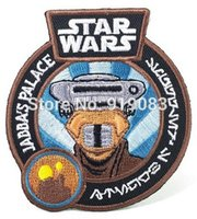 Star Wars 7 VII patch jabba del palacio TV Movie Movie Applique Traje Hierro bordado en Halloween Cosplay Party Favor