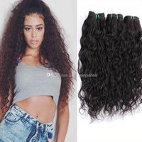 Wholesale Brazillian Loose Wave Unprocessed Hair - Cheap Human Hair Wet and Wavy Brazilian Hair Raw Unprocessed Brazillian Hair Loose Curly Brazilian Human Hair Water Wave Bundles