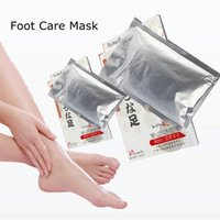 Wholesale Butterfly baby foot feet care peeling renewal mask remove dead skin cuticle heel Exfoliating Foot Butterfly baby foot peeling renewal mask