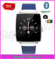 Smart Watch Phone SIM Camera Smartwatch X6 Melhor presente para amigos amigos Wearable Bluetooth Intelligent Wristwatch para Android iOS Phone