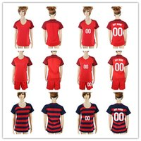 Wholesale Usa Suits - 1718 women's World Cup Soccer Jersey USA Jozy Altidore Clint Dempsey and #10 LLOYD Women's short-sleeved football suit