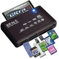 Wholesale Usb Multi Micro Mini - Universal Multi in 1 All in One Memory Card Reader USB External SD SDHC Mini Micro M2 MMC XD CF