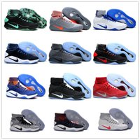Wholesale Hyperdunk Shoes - New Arrival Hyperdunk 2016 Lapel Paul George Weaving Men's Basketball Shoes for Top quality Olympic USA Oreo Grey Wolf Sneakers Size 40-46