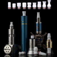Wholesale Manufacturers Drip Tips - Big Season Promotion Electronic Cigarette Mouthpiece Multiple White Color Teflon Drip Tip China Manufacturer Fit 510 Atomizer