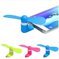 Wholesale Computer Laptop Wholesale Supply - USB Mini Fan Portable for Laptop Computer Power Supply Android Smart Phones usb fan for IPHONE 6 Samsung S7