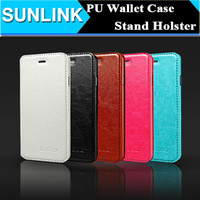 Wholesale Leather Iphone 5s Case Cheap - Cheap Flip PU Leather Wallet Case Stand Up Cover Pouch for iPhone 6 6s Plus 5 5s se Samsung S6 S7 Edge S5 Grand Prime G530 Note 5 4