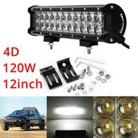 Éclairage De Travail D'inondation De Véhicule Pas Cher-12inch 120W étanche LED Flood / véhicules de spot Truck ATV Combo Work Light Bar Offroad Driving Lamp 4WD CLT_40X