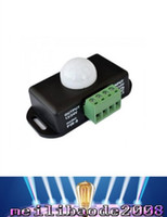 Wholesale Pir Sensor Switch Detector - 12V 24V Mini PIR Motion Sensor Detector Switch for LED Lamp Strip Light Tape SMD 5050 3528 5630 Body Infrared Detection 6A 12 Volt 24 MYY
