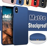 Für iPhone X Hüllen Süßigkeiten Matte Mattiert Shockproof Ultra Thin Slim Ganzkörper Coque Hartplastik PC Cover Case für iPhone X 8 7 Plus 6 6S