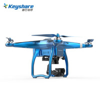 Wholesale Brushless Channel Helicopter - Keyshare Glint 2 FPV RC Helicopter GPS WIFI 1000M Drone with camera HD 4K 1080P 3 Aixs Gimbal VS DJI Phantom 4 3 Professional Fast Shipping