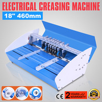 "Wholesale creasing machines - New Metal 3-in-1 Electrical Creasing Machine 460mm 18"" Creaser Perforating Paper"
