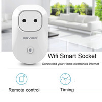 Wholesale Wholesale Electrical Sockets - Origin Orvibo S20 WiFi Smart Socket Smart power plugs EU,US,UK,AU Standard Power Socket Home Automation works with Echo household electrical