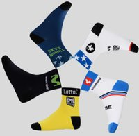 Wholesale Tour France Tops - The Tour DE France New Mountain bike socks Cycling Sport Socks Road Bicycle Socks Coolmax Material Top Quality