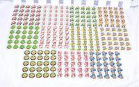 blinkende broschen großhandel-Beleuchtete Party Dekoration Brosche Blinkende Weihnachten Led Brosche Weihnachtsbaum Led Pin Kinder Geschenke Thema Party Cosplay