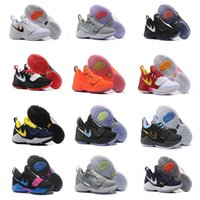 Wholesale Man Shoes For Sale Cheap - 2017 Top quality Paul George PG1 Shining Ferocity Men's Basketball Shoes for Cheap Sale PG 1 Los Angeles Home Sports Sneakers Size 40-46