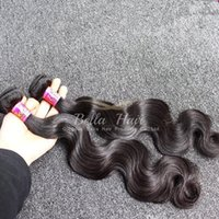 "Wholesale Smooth Waves Hair - 8""-30"" Peruvian Hair Weave 2 Bundles Body Wave Hair Weft Natural Color Soft Smooth Human Hair Extension"