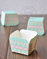 Wholesale Cheap Cake Cupcake Boxes - Free shipping cheap cupcake boxes, wholesale personalized rose muffin edible cake cup liners case containers holder decorations