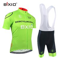 Wholesale Cycling Jerseys For Cheap - BXIO Brand Pro Cycling Jerseys 2016 The Summer Green Fashion Bike Wear Cheap Cycle Clothing Ropa Ciclismo Hombre Verano For BX-0209G011