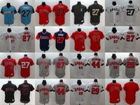 Wholesale Anaheim Angels Jersey Xxl - 2017 Los Angeles Angels of Anaheim 27 Mike Trout 29 Rod Carew 44 Reggie Jackson Baseball Jersey Stitched Size S-4XL