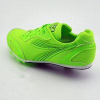 Wholesale Spiked Track Shoes - Wholesale-Professional Children's spikes Kids' Sneakers Top quality Running spikes Students' training&test Track&Field Shoes